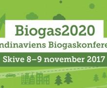 Tilmelding til Skandinaviens Biogaskonference 2017 er åbnet