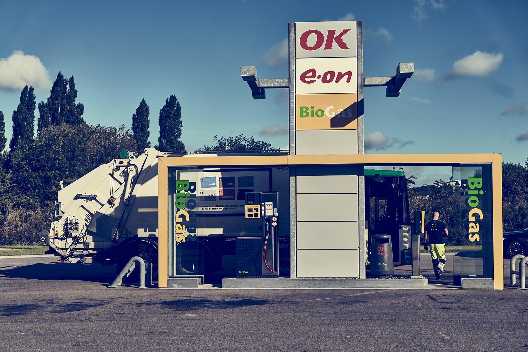 Biogastankstation i Høje-Taastrup (DK) indvies 6. oktober 2016.