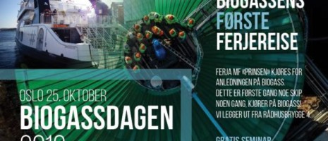 Biogassdagen 2016 i Oslo