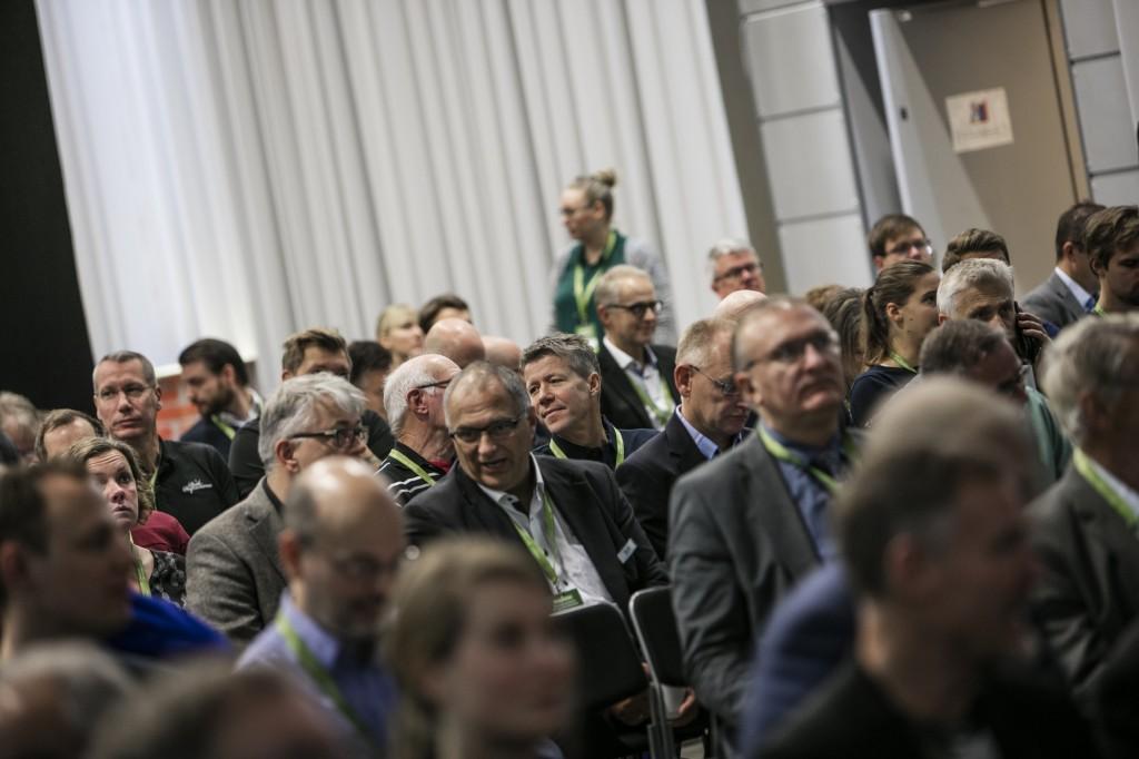 Besökare Skandinaviens Biogaskonferens