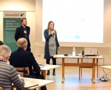 Parterna möttes i Danmark
