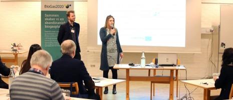 Biogas2020 internt partnermøde