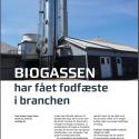 Biogassen har fået fodfæste i branchen