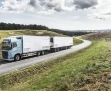 Nye Volvo-lastebiler på biogass