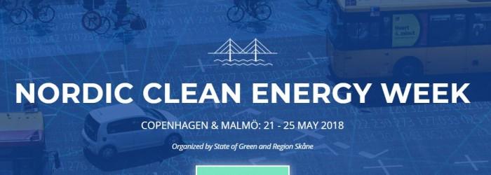 Nordic Clean Energy Week, May 21-24