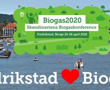 Fredrikstad kommune inn som samarbeidspartner for Skandinavias Biogasskonferanse 2018