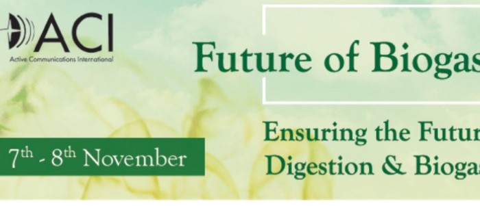 Future of Biogas Europe 7-8 november